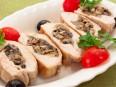 Куриное филе, фаршированное грибами
