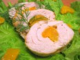 Куриное<br /> филе, фаршированное абрикосами и сыром