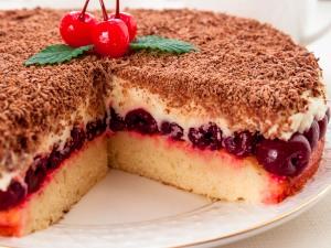 торт наслаждение рецепт с фото