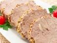 Свинина с<br /> чесноком, запеченная в фольге