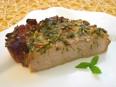 Свинина,<br /> маринованная в соевом соусе и зеленом луке