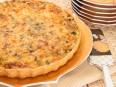 Лоранский пирог с курицей, грибами и...