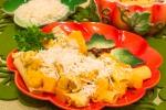 Макароны с тыквой и филе индейки