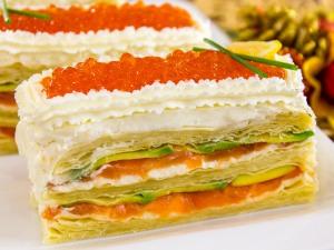 1112 01433mf5 2438 p Рецепт: Закусочные пирожные из слоеного теста, форели и авокадо