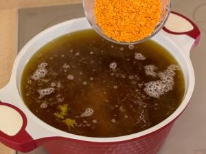 1144 01290t1l 6941 p Рецепт: Суп с чечевицей и белыми грибами