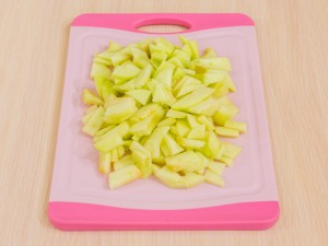 1147 024616w 7389 p Рецепт: Крамбл с яблоками и брусникой