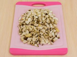 1159 01092erh 9030 p Рецепт: Печеночные котлеты под грибным соусом