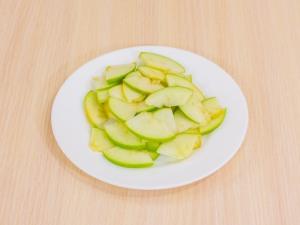 1192 04197t3 3747 p Рецепт: Куриное филе, запеченное с беконом и яблоками