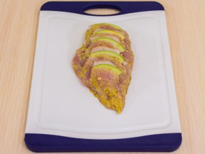1192 083293i 3761 p Рецепт: Куриное филе, запеченное с беконом и яблоками
