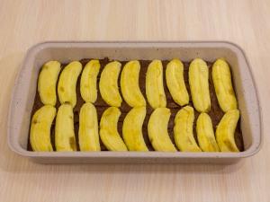 1197 0103461q 6621 p Рецепт: Шоколадный пирог с бананами и карамельным соусом